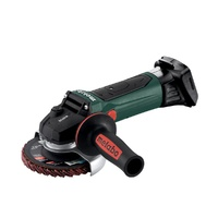 Metabo W 18 LTX 125mm Quick INOX Cordless Angle Grinder
