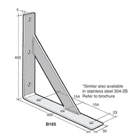 Bowmac Bracket B165 Angle (with Gusset)