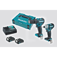 Makita 12V CXT Brushless 2 Piece Impact Drill Pack