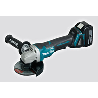 Makita DGA508Z 18V Cordless Brushless 125mm Paddle Switch Angle Grinder