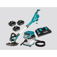 Makita 18V LXT Brushless Drywall Sander And Vacuum Kit