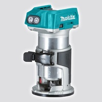 Makita 18V LXT Brushless Laminate Trimmer With Base Sets And Makpac Case