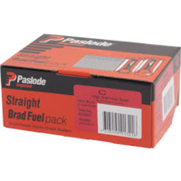Paslode Impulse C Straight Brad 25mm x 1.6mm with Gas Stainless Steel B20650 2000 Pack