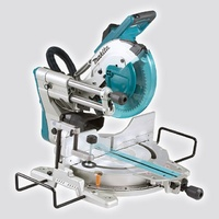 Makita 260mm Dual-Bevel Sliding Compound Mitre Saw With Stand