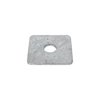 Washer Square M12 x 50mm x 3mm x 3mm Galvanised