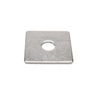 Washer Square M16 x 50mm x 50mm x 3mm Stainless Steel 316