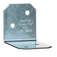 Simpson Strong Tie A21 Reinforced Angle Bracket 35mm x 50mm x 40mm Z275 Galvanised